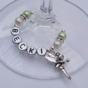 Magic Fairy Personalised Wine Glass Charm - Elegance Style